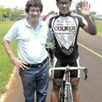 Nazareno Yeri campeón del Regional de ciclismo (Foto El Territorio)