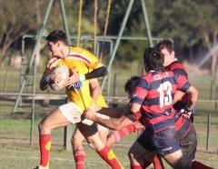CURNE, campeón defensor del título, se impuso 93 a 10 a Centro de Cazadores, en un partido sin equivalencias (Foto Tiempo de Rugby)