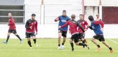 Guaraní entrenó