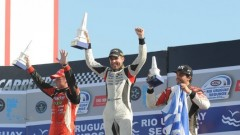 Pato Silva podio C del Uruguay