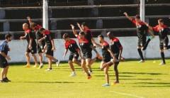 Guaraní enfrentará esta tarde al equipo con el cual debutó el año pasado en su regreso a la B Nacional (Foto: Sixto Fariña)