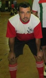 El talentoso Raúl Toth, autor de dos goles para Deportivo Corpus