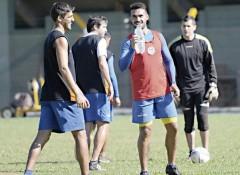 Fabio Vázquez y Rodrigo Lechner confían en hacer una buena segunda parte de torneo (Foto: Sixto Fariña)