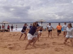 beach rugby Miguel Lanús