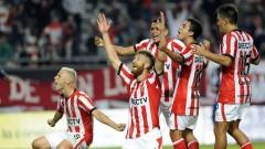 Jonathan Schunke festejo Atlético