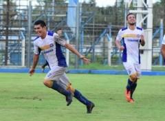 gol de Sol de América a Guaraní