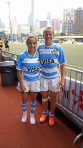 María Paula Pedrozo y Noelia Billerbeck