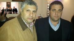 Nelson Castelli junto a Pablo Toviggino, actual titular del Consejo Federal, cuando llevó el respaldo del fútbol misionero al actual miembro de La Comisión Normalizadora de la AFA