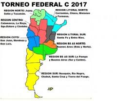 mapa Federal C 2017